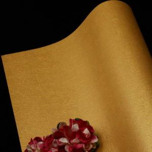 Single-sided Pearlescent Embossed papers, Mustard, 78cm x 54cm, 1 sheet, (UAV0002)